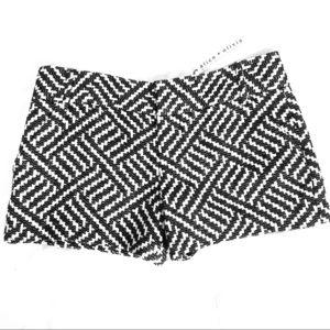Alice & Olivia Tweed Shorts size 10 NWT